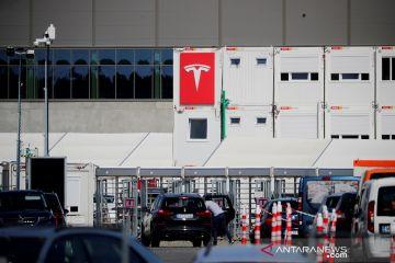 Tesla targetkan produksi 5-10 ribu kendaraan seminggu di Berlin