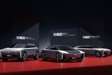 Honda perkenalkan model kendaraan listrik untuk pasar China