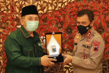 PBNU beri penghargaan Polda Jateng atas vaksinasi di pesantren