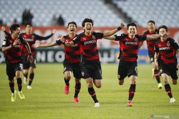 Liga Champions AFC : Pohang  Steelers ke final setelah menang lewat adu penalti