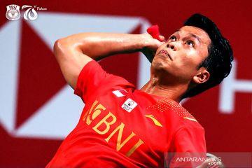 Sakit pinggang alasan Ginting mundur dari Denmark Open