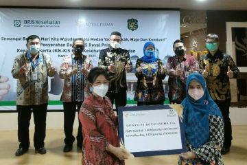 2.429 warga Medan terima donasi iuran JKN-KIS