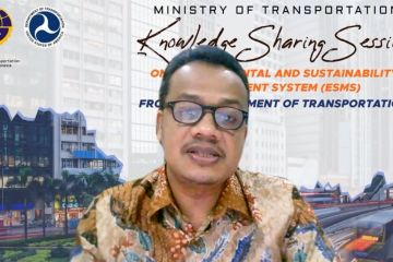 Kemenhub dorong implementasi transportasi berkelanjutan