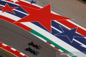 Pebalap mobil F1 jajal sirkuit jelang Grand Prix Amerika Serikat