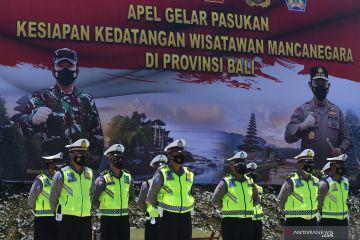Gelar pasukan kesiapan kedatangan wisman di Bali