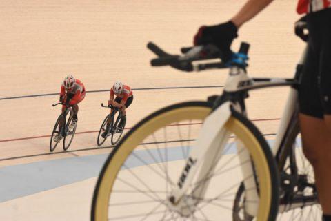 Pemusatan latihan balap sepeda Asian Games