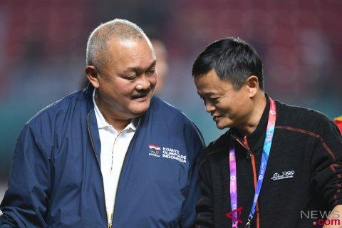 Jack Ma Bertemu Gubernur Sumsel