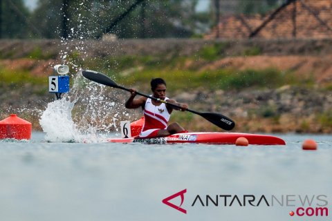 Kayak Sprint Semifinal Tunggal Putri 200 Meter