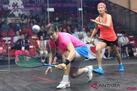 Squash Beregu Putri Semifinal Jepang Vs Hong Kong