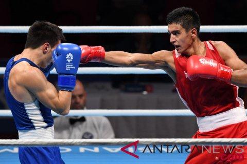 Tinju Final Welter 64kg Ikboljon vs Chinzorig