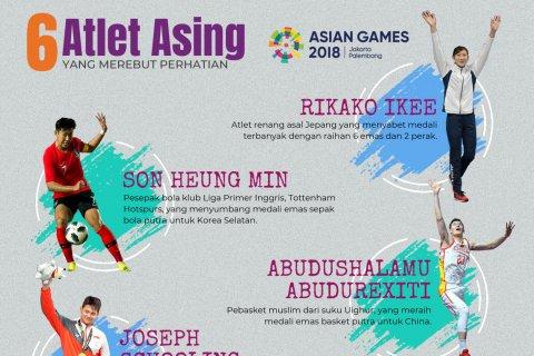 6 Atlet Asing yang Merebut Perhatian di Asian Games 2018