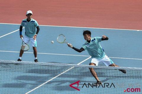 Soft Tenis-Perempatfinal Beregu Putra