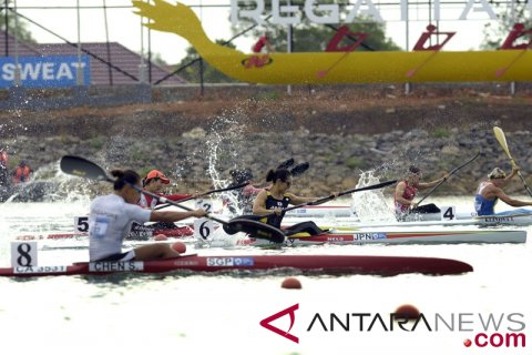 Kayak Sprint Tunggal Putri