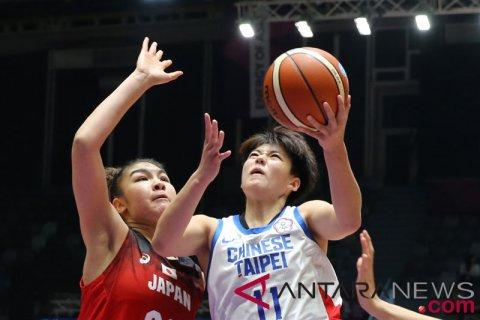 Final Perunggu-Basket Putri ChineseTaipei vs Jepang