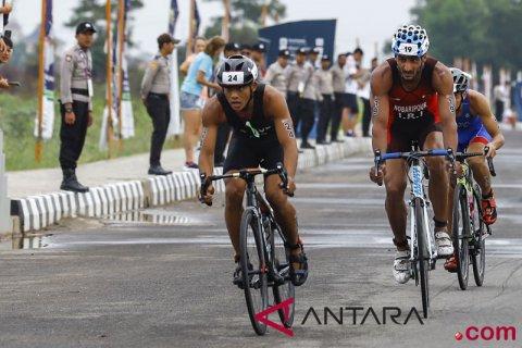 Triathlon Putra Asian Games