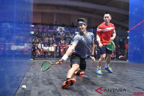 Squash Beregu Putra Final Hong Kong Vs Malaysia
