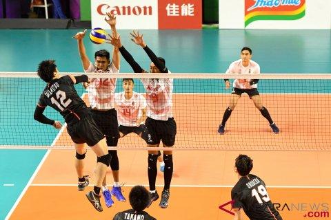 Voli Putra Kualifikasi Indonesia Vs Jepang