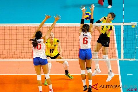 Voli Putri Semifinal Kazakhstan Vs Filipina