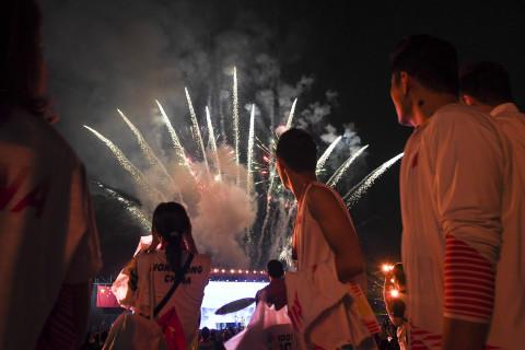 Di bawah euforia penonton, Para Games 2018 ditutup meriah