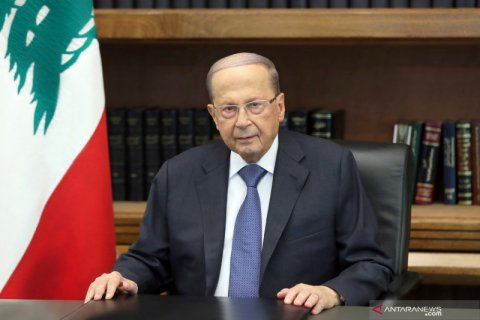 Presiden Lebanon sebut amonium nitrat penyebab ledakan dahsyat