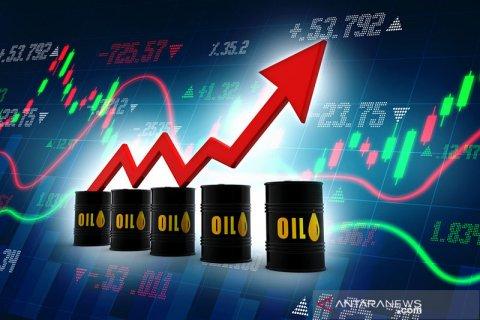 Harga minyak global naik didorong data ekonomi positif AS