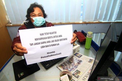 Imbauan Jurnalis untuk masyarakat di rumah aja