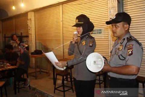 Foto - Polisi imbau warga Gorontalo hindari kerumunan massa cegah virus corona