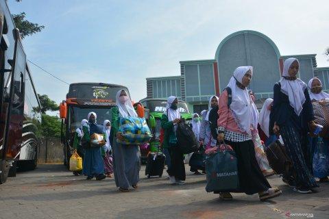 Pemulangan Santri di Jombang