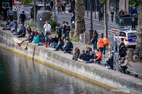 Kasus virus corona di Prancis  kembali melonjak