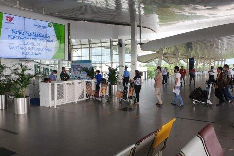 Jumlah penumpang H+5 Lebaran di Bandara Kualanamu 244 orang