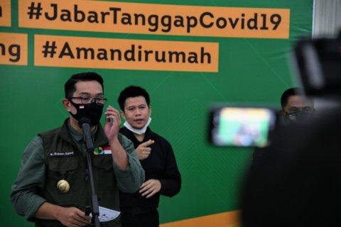 Ridwan Kamil klaim Jabar nol zona merah COVID-19