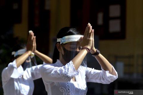 Hari Saraswati di Badung terapkan protokol kesehatan