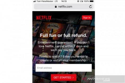 Netflix benarkan bisa diakses lewat jaringan  Telkom