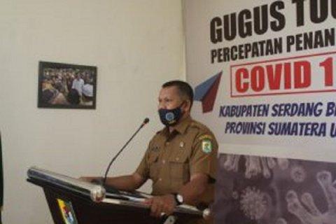 Satu tenaga medis warga  Serdang Bedagai dinyatakan positif COVID-19