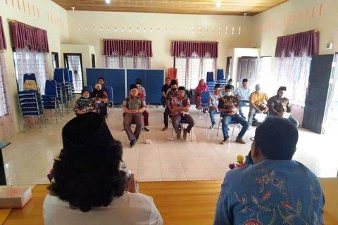 15 Panwas desa-kelurahan Pilkada Bupati 2020 se Angkola Muaratais dilantik