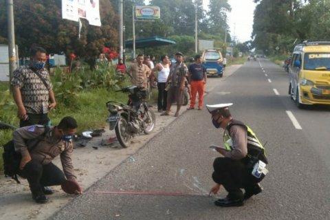 Warga Medan tewas tabrakan di lintas Perdagangan Simalungun