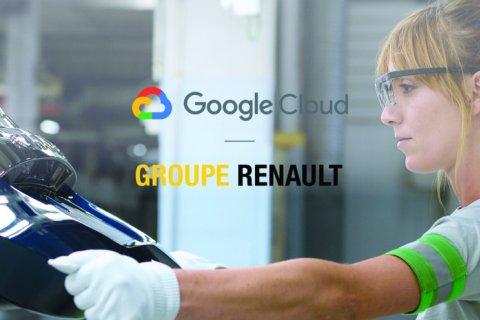 Grup Renault - Google Cloud bermitra optimalkan manajemen data otomotif