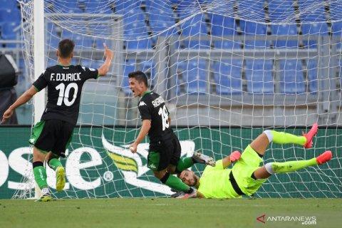 Sassuolo bangkit untuk menang tipis 2-1 atas Lazio