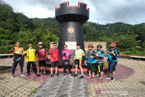 Kapolres Tapanuli Selatan nikmati panorama alam dengan kayuh sepeda puluhan kilometer