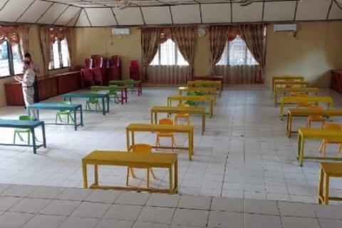 Polres Nias sediakan ruang belajar dengan fasilitas  wifi bagi pelajar