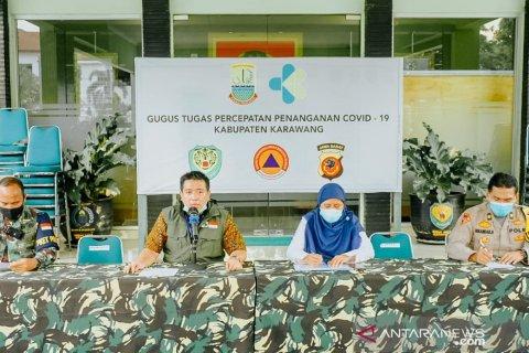 Kasus positif COVID-19 di Karawang kembali bertambah lima orang