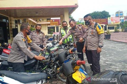 Ops Patuh Toba 2020, Polres Tanjungbalai amankan 74 unit ranmor