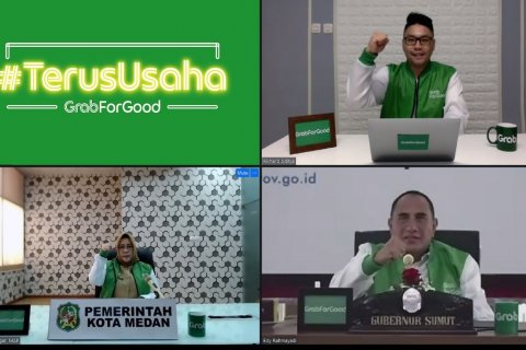 Gubernur Sumut apresiasi program  digitalisasi UMKM Grab