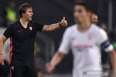 Lopetegui: Sevilla layak menang atas Wolverhampton