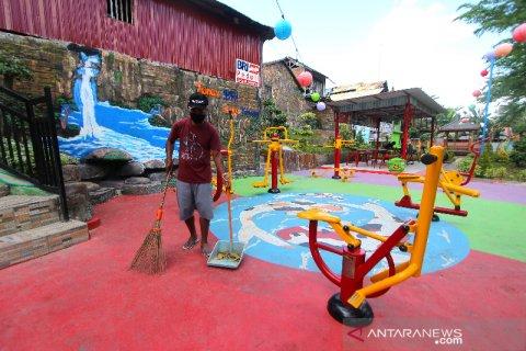 Taman BRI Di Kawasan Sungai Kemuning Banjarbaru