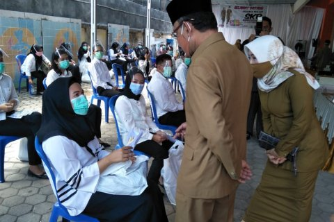 80 peserta tes CPNS di Mataram reaktif COVID-19