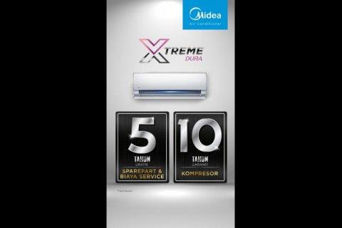Midea luncurkan fitur Xtreme Dura pada produk AC barunya
