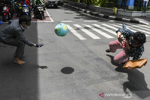 Aksi simpatik pemerhati lingkungan
