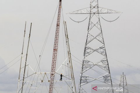 Pembangunan menara sutet