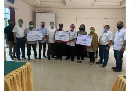 PTPN XIII salurkan CSR kepada 10 desa di Kabupaten Sanggau